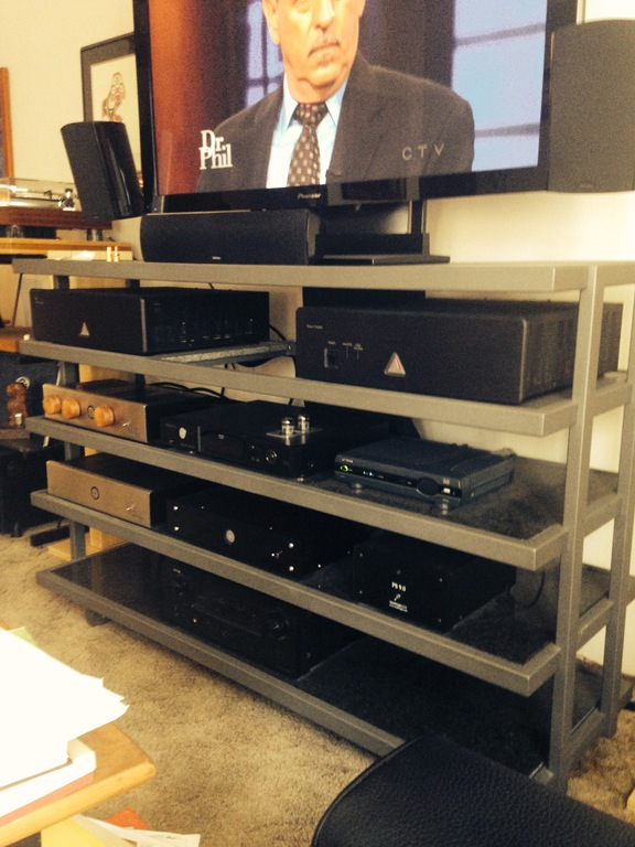 A rack I was very glad to sell! all 550 pounds of it!