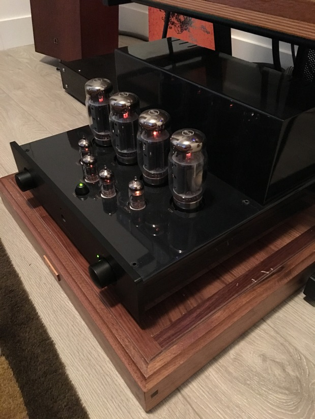Primaluna Dialogue Two Integrated Amplifier w/KT-120s!