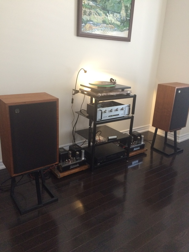 Audio Research SP8, McIntosh MC30 with Tannoy LGM 12