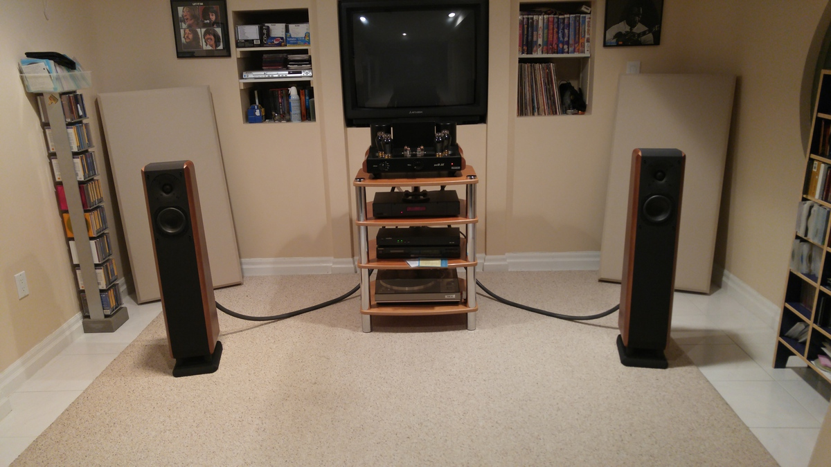 Chario Cygnus and Mastersound 300B SE