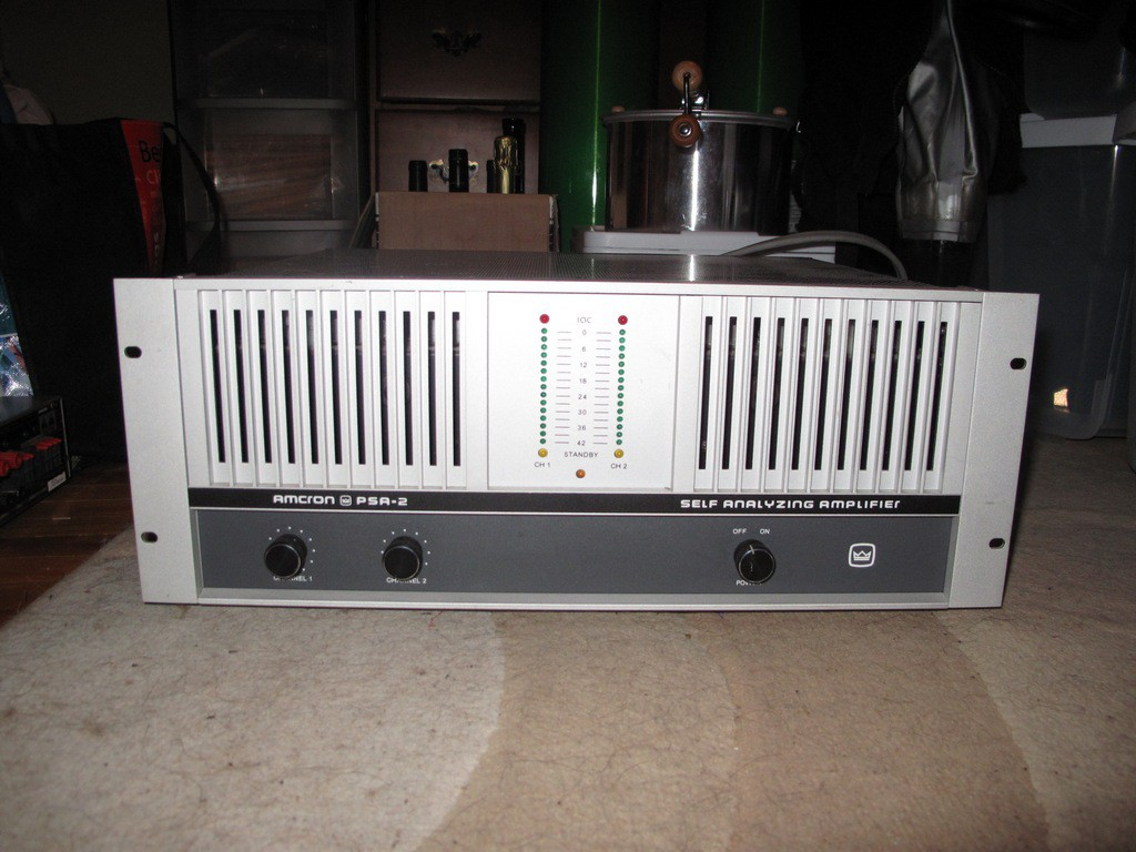 Amcron Crown Psa 2 Amp 460watt Amazing For Subs Or
