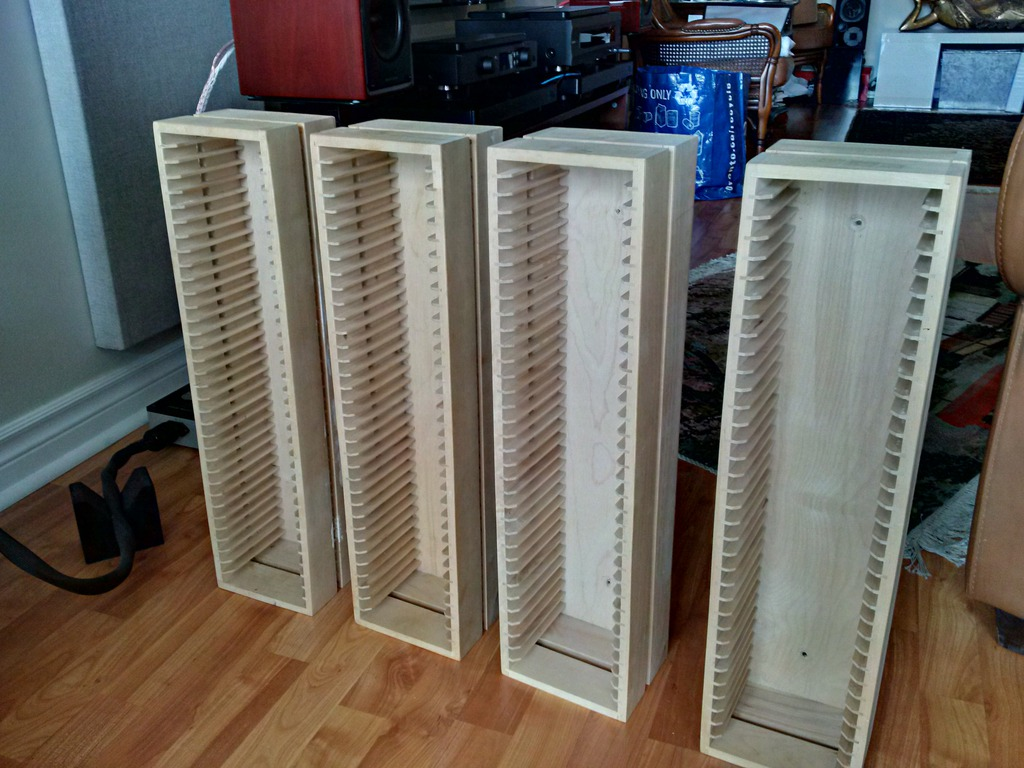ikea boalt wooden cd racks wall mountable for sale canuck audio mart. Black Bedroom Furniture Sets. Home Design Ideas