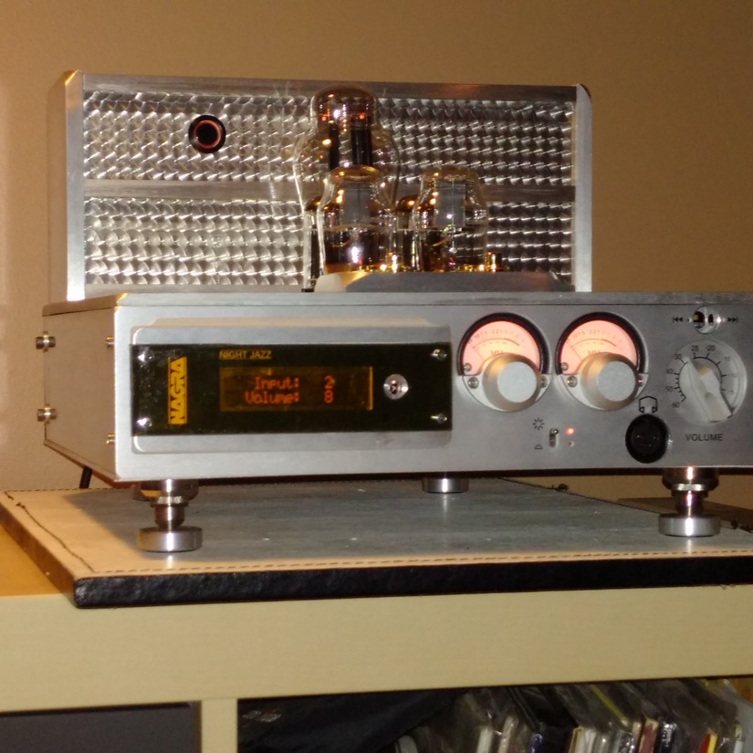 Nagra Night Jazz Headphone Amp 01