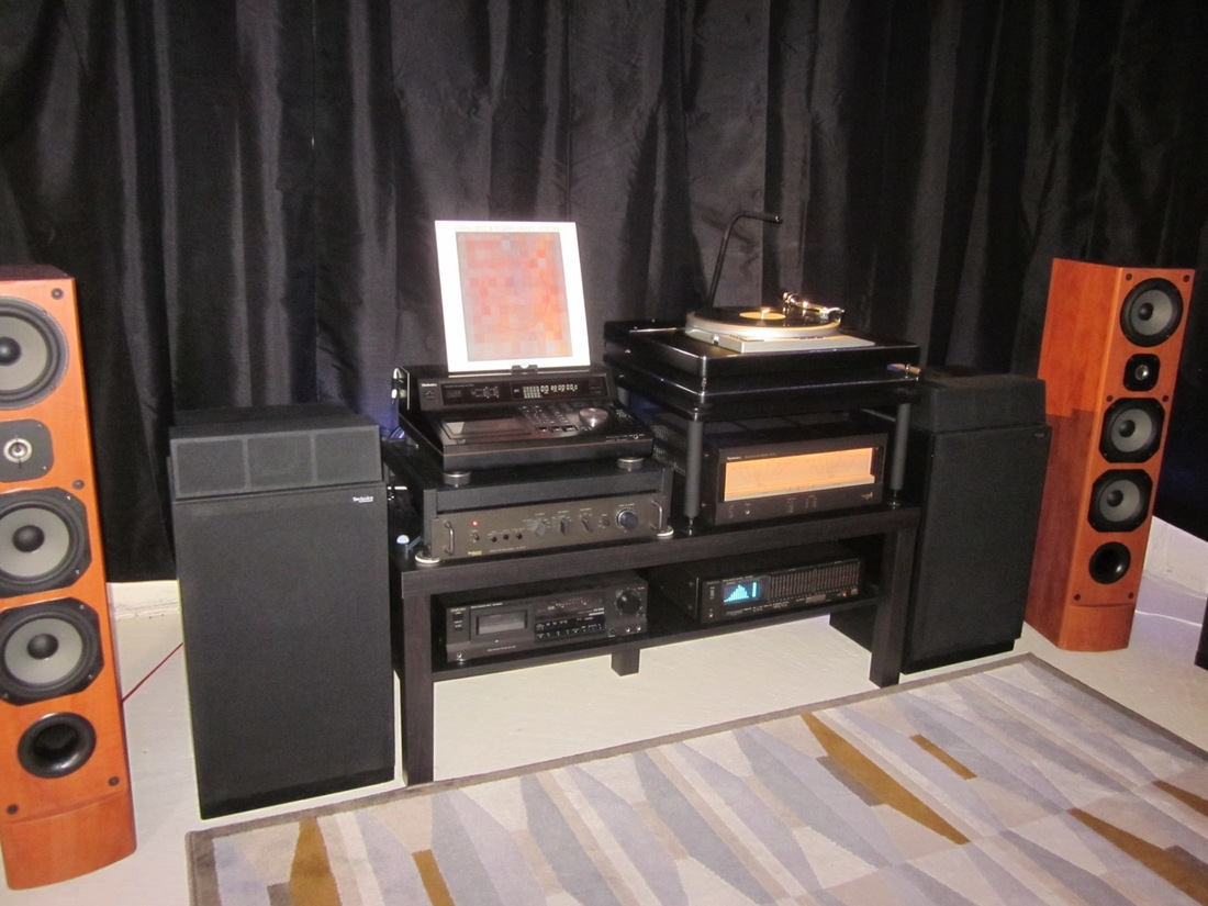 Technics SU-9070 Pre, Tecnics SE-A5 Power Amp, Technics Sp-15 TT, Technics SL-P1200 CD, Technics RS-BR465 Tape Deck, Technics SH8055 EQ, Technics SB5000A Speakers, JMLab Chorus 725 Speakers