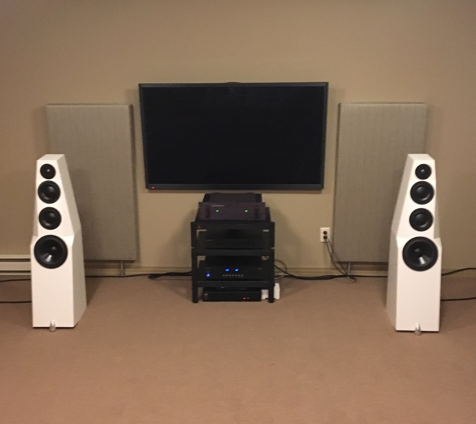 Totem wind, Cary Audio, Bryston.