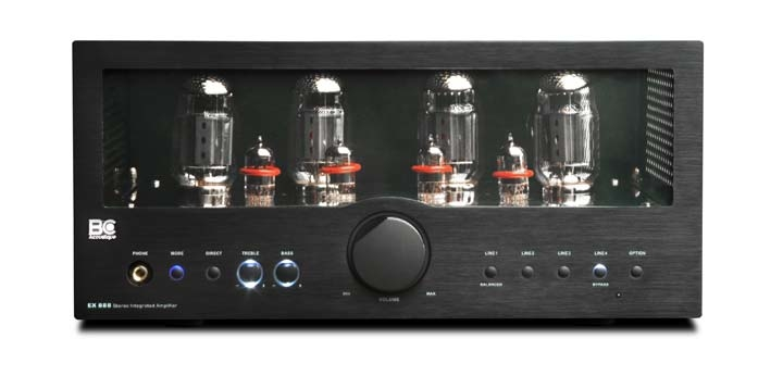 BC Acoustique KT88 integrated