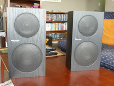 Pioneer SP BS21 LR Bookshelf Speakers For Sale