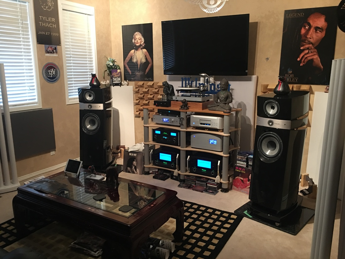 MC601, C2600, Focal Scala, Esoteric K-01, PS Audio P-10, Sony HAP Z1es and Rega RP-10