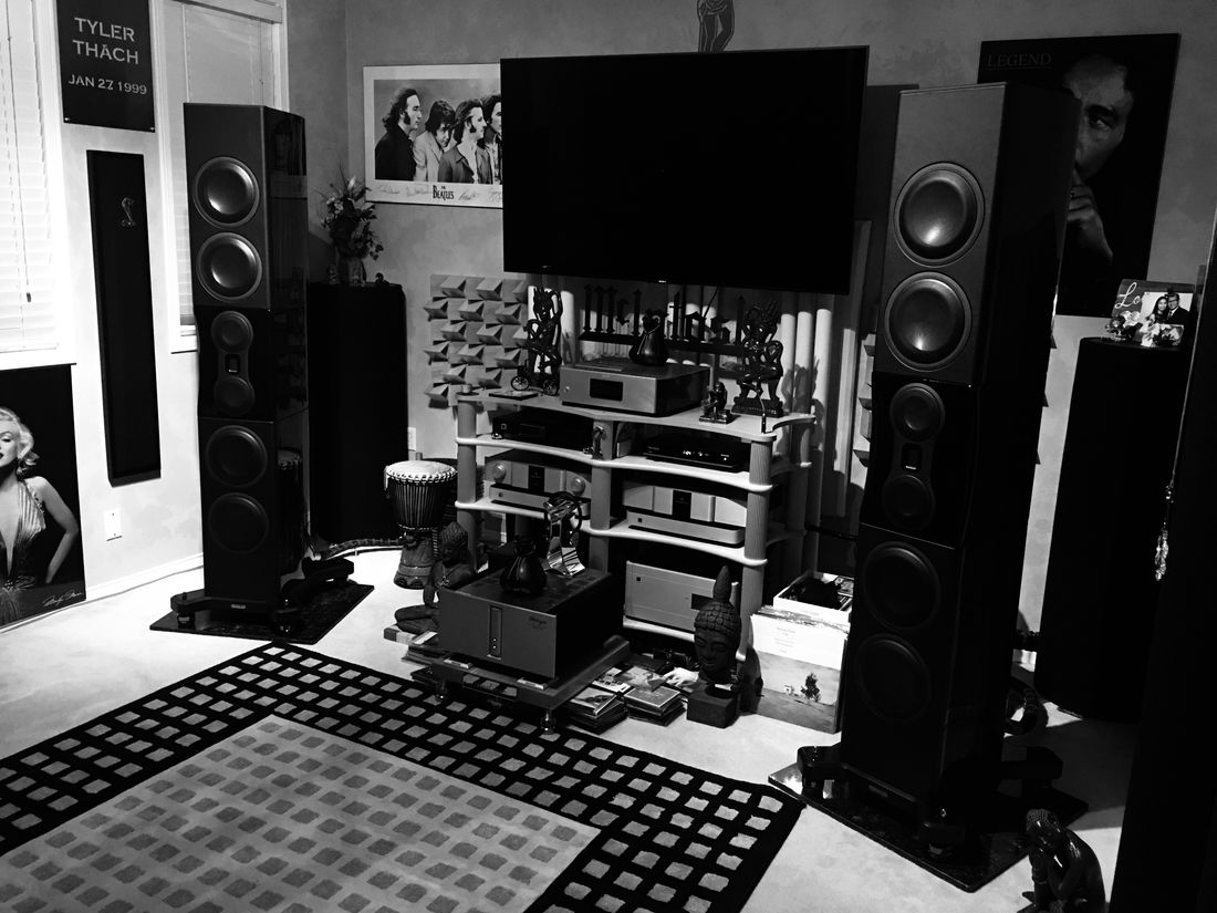 Best Combo Ever put Together Monitor Audio Platinum PL500 ii- Karan KS L Reference MK-3- Aurender A-10, Sony SCD-1 and  Reimyo KAP-777