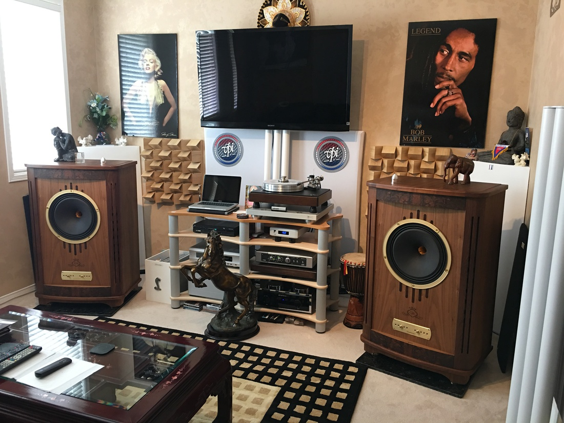 eINSTEIN THE LIGHT IN THE DARK POWERAMPLIFIER with TANNOY CANTERBURY