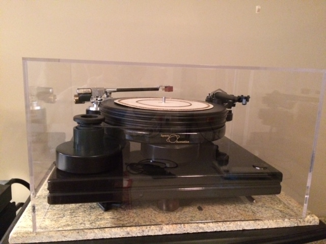Nottingham Spacedeck with Ace-Space and SME V Tonearms