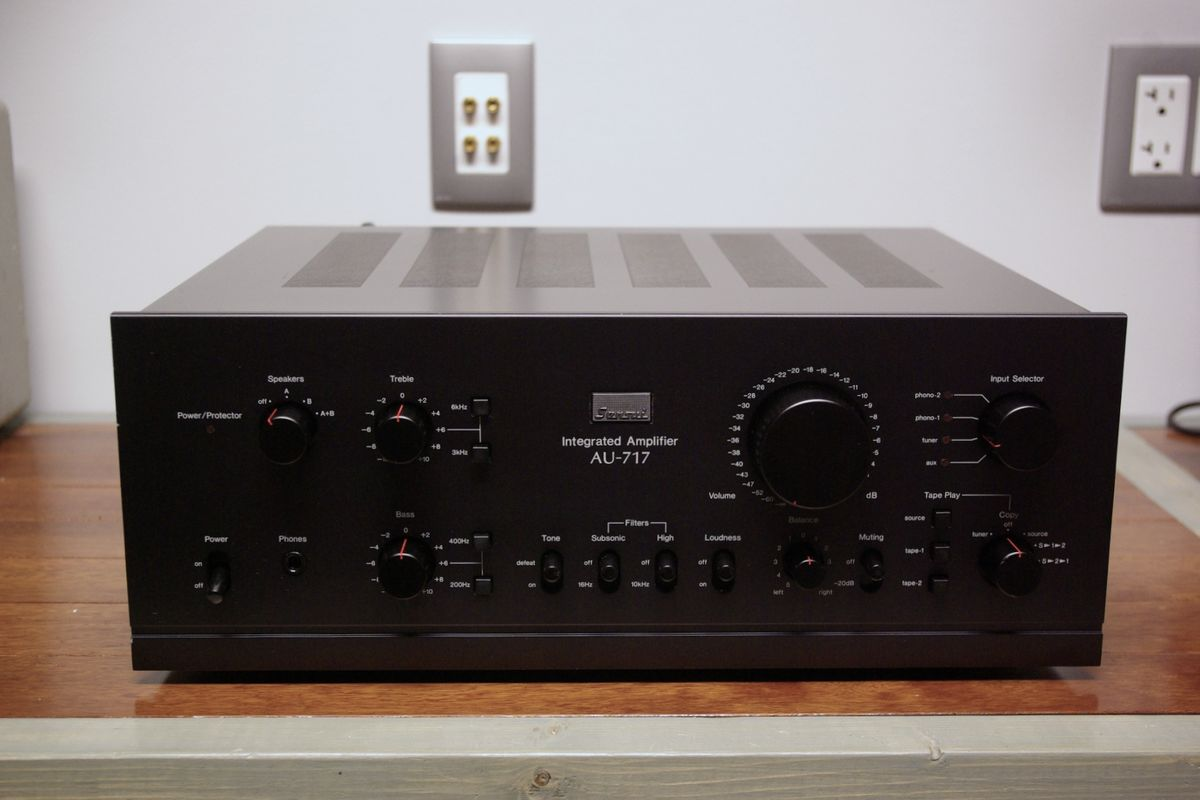 Sansui AU-717 fully done & done right.