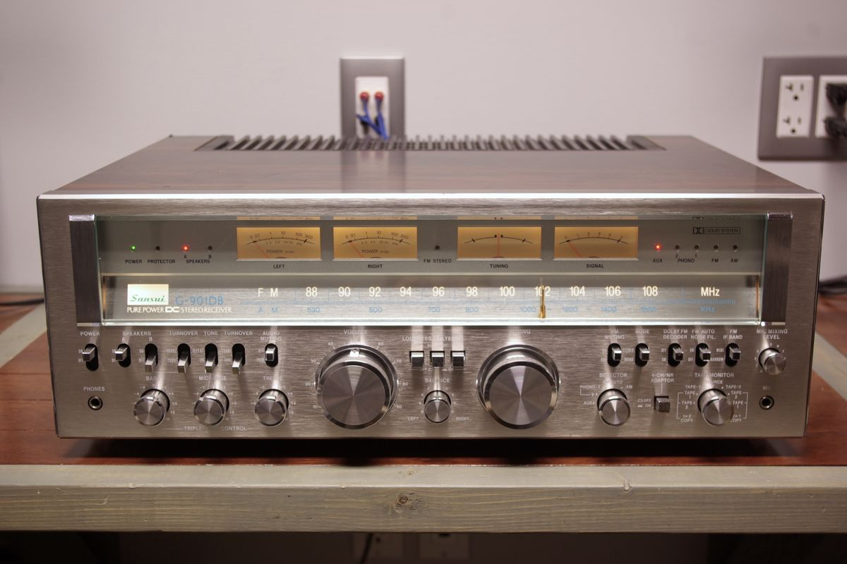 Another classic Sansui smiles again.
