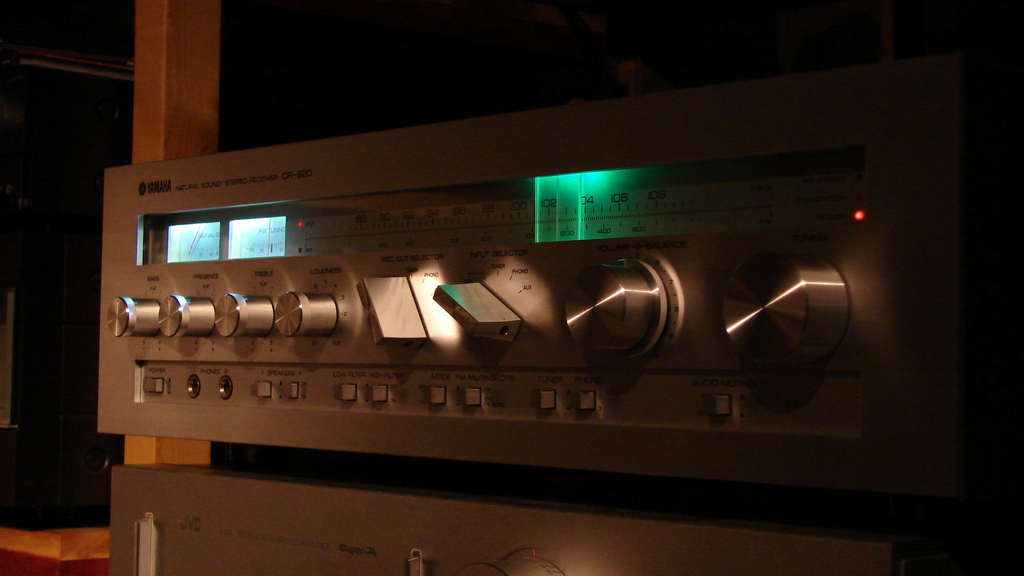 Yamaha CR-820 after service & mods