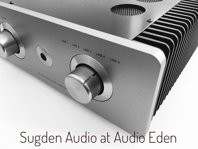 Sugden at Audio Eden