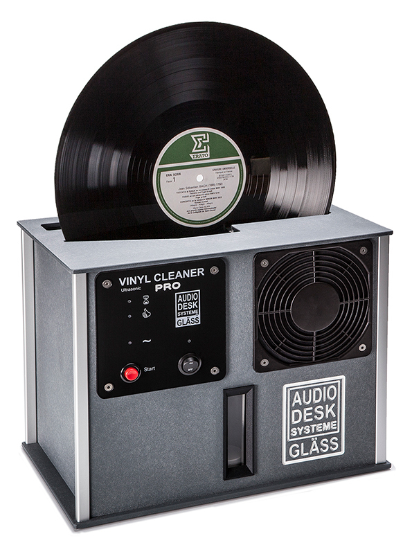 Audiodesk PRO automatic record cleaner