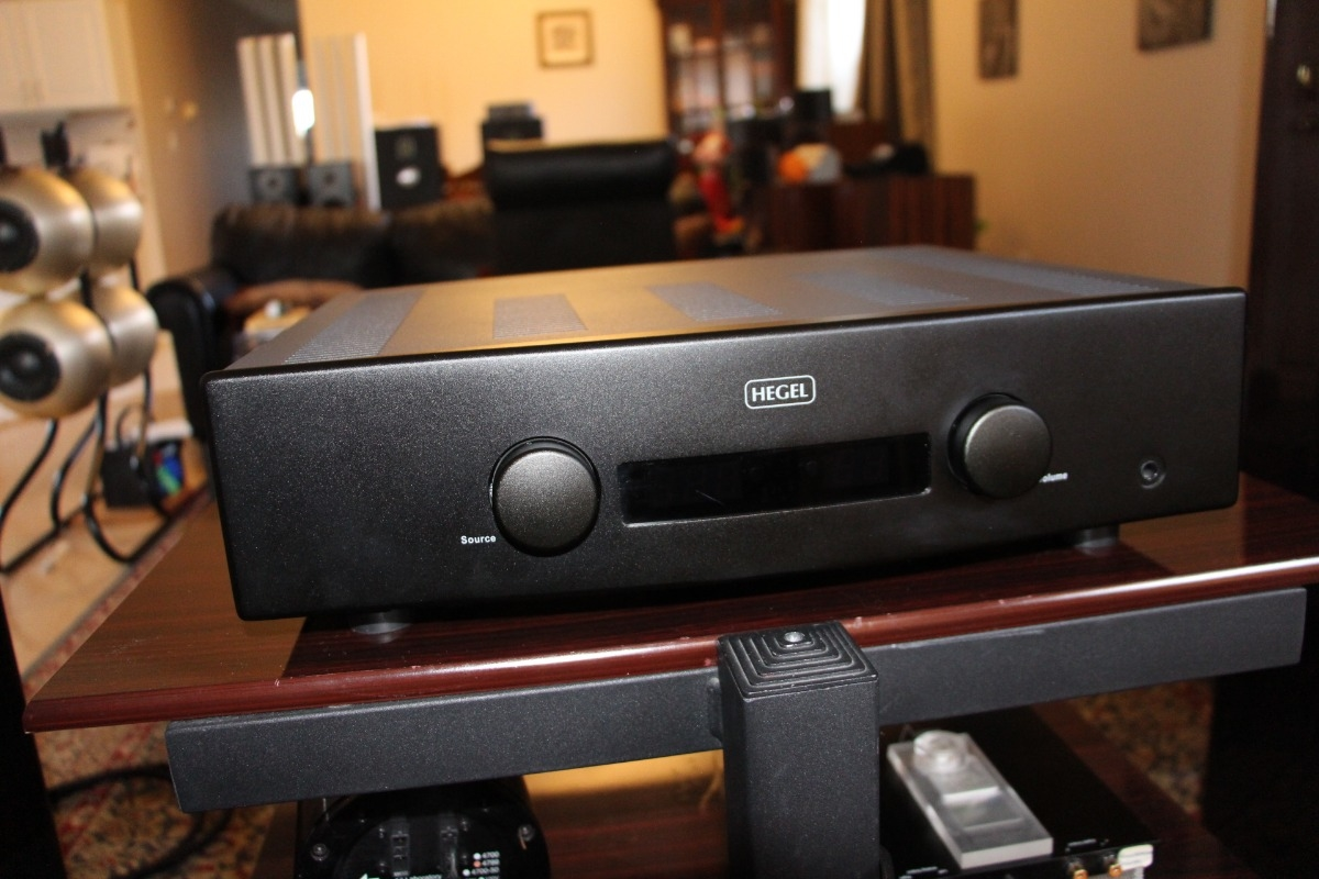 Hegel H160 integrated amp with DAC