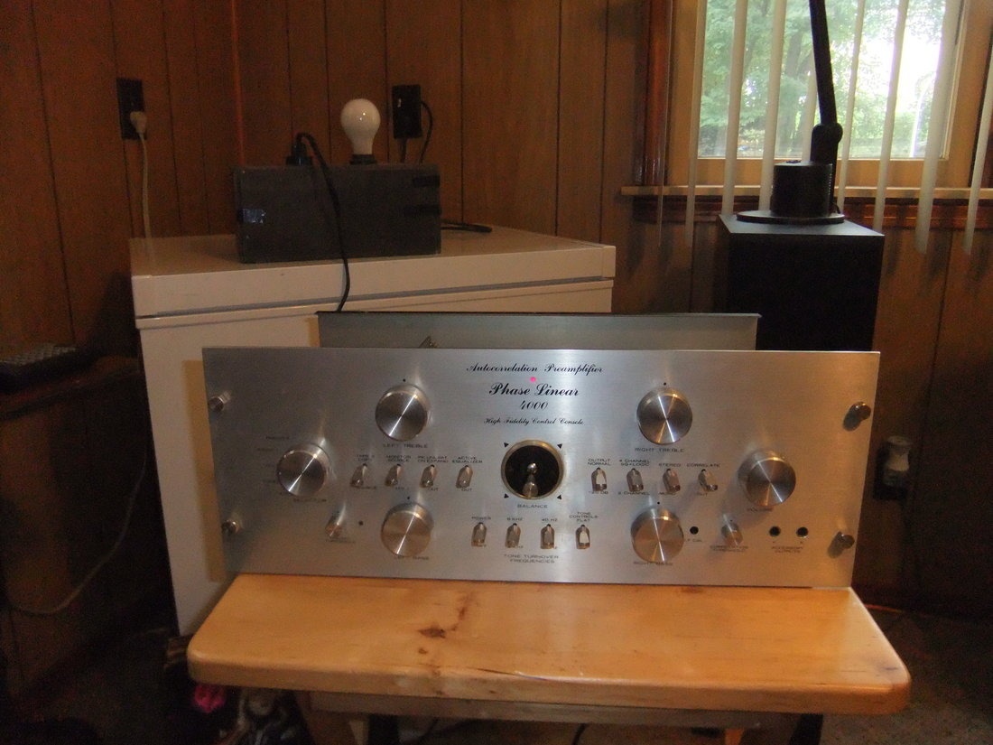 Vintage Phase Linear 4000 Autocorrelation Preamp