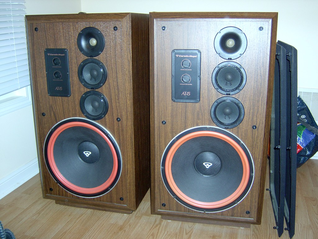 Cerwin Vega Speakers 15 Cerwin Vega At-15's For Sale