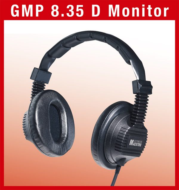 German Maestro GMP 8.35 Monitor headphones