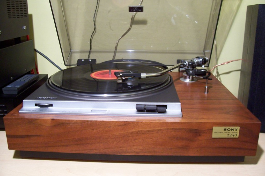 SONY PS-2250 turntable