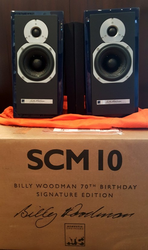 ATC SCM10 Signature Edition Mini Monitor - Bedroom Setup