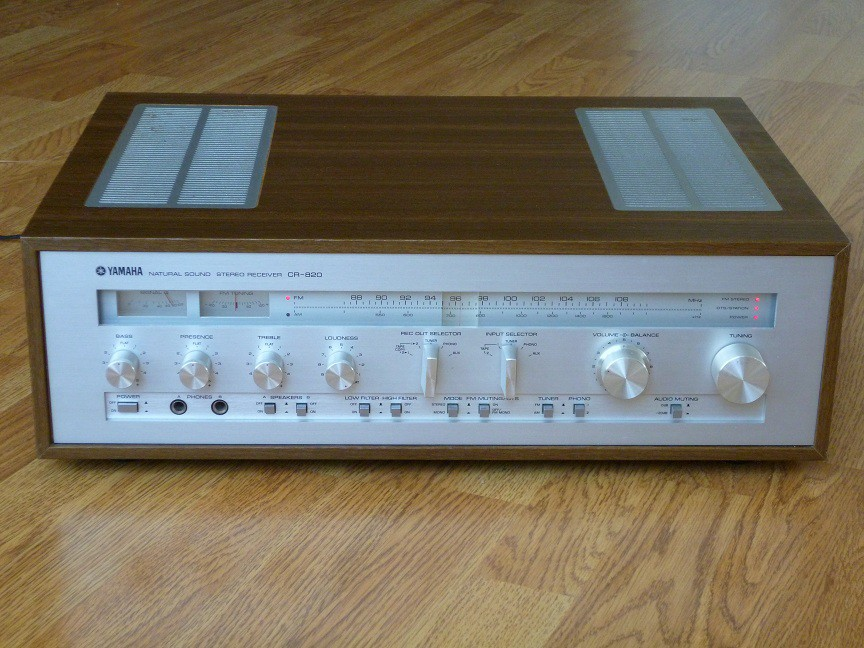 vintage yamaha stero receiver for sale
