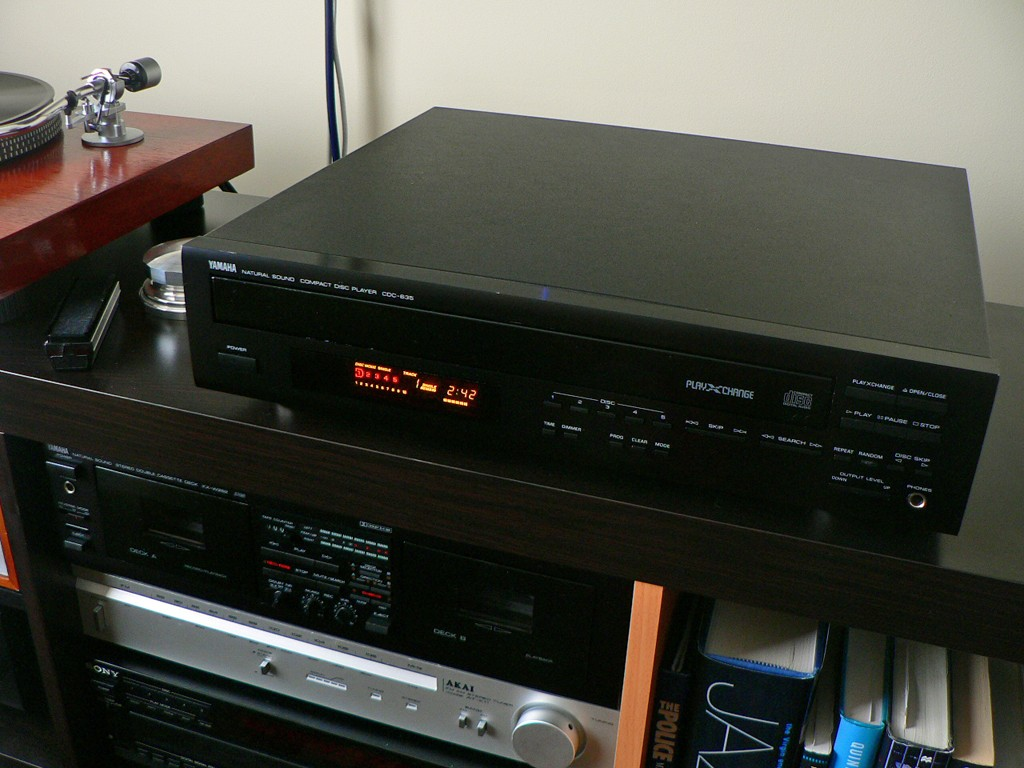 Yamaha cdc 635 5 disk playexchange cd changer for sale for Yamaha clp 635 review