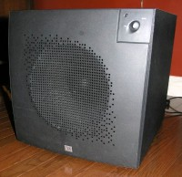 jbl psw series model psw d110 amplified sub for sale canuck audio mart rh canuckaudiomart com