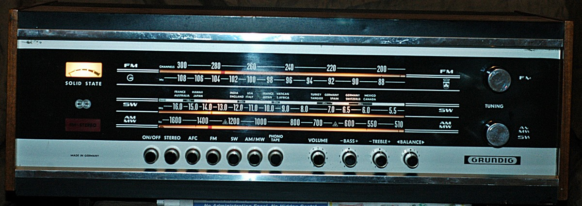 Vintage    Grundig       RTV    380U STEREO Receiver RADIO MADE IN GERMANY For Sale  Canuck Audio Mart