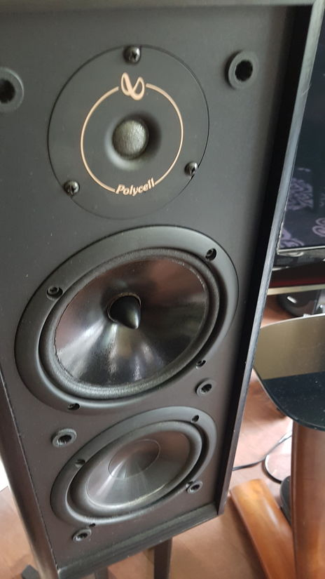 Infinity RS-425 Simply amazing sound from 30 year old speakers