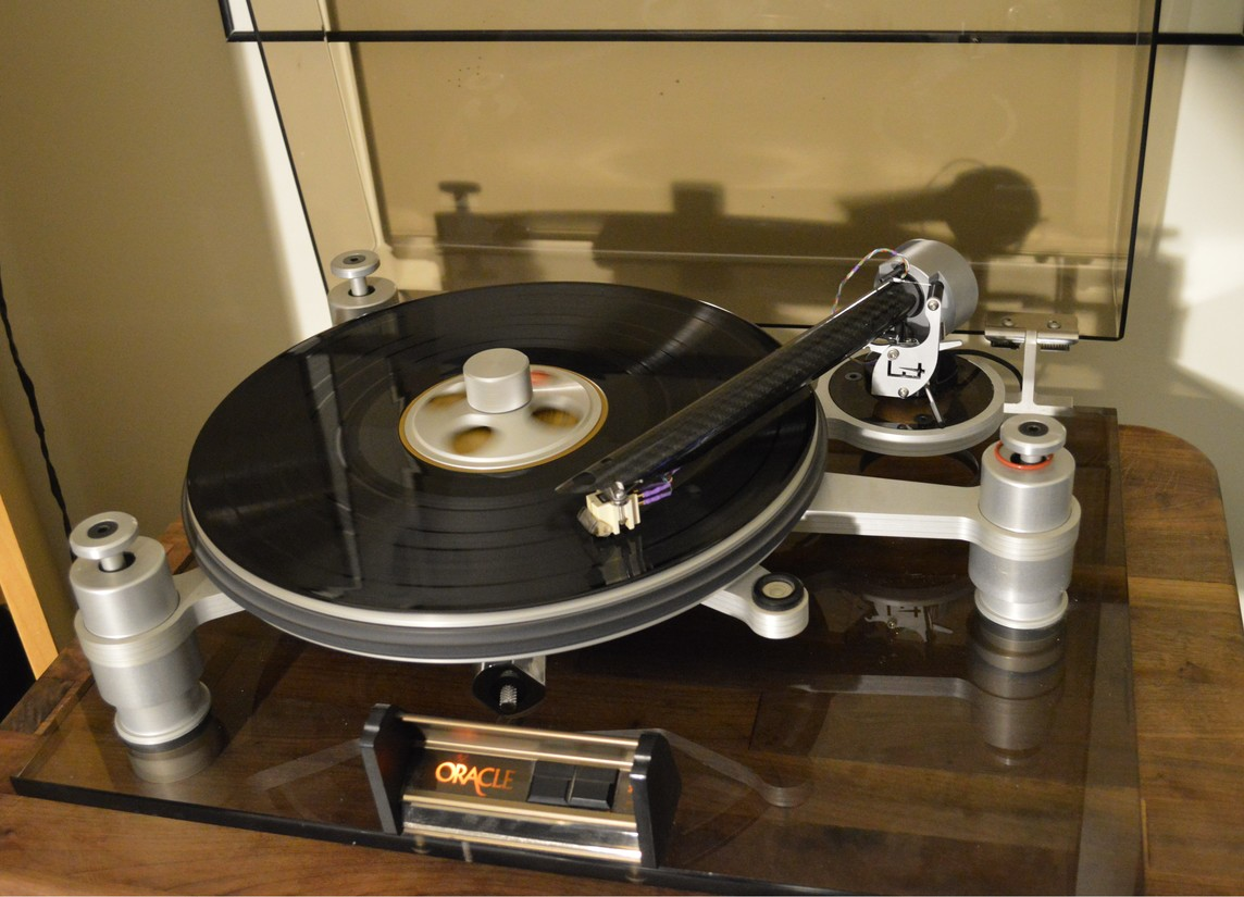 Oracle Delphi w/ DBL the wand Tonearm and Denon DL-301 cart