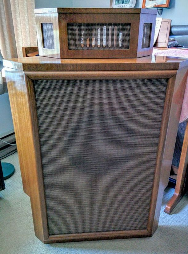 Mid 1950s Wharfdale Airedale Mono Speaker