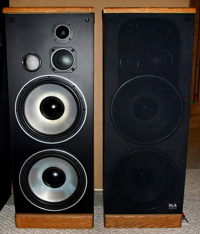 kla 16 a tower speakers dual 12 woofers 6 ohm 300watt. Black Bedroom Furniture Sets. Home Design Ideas