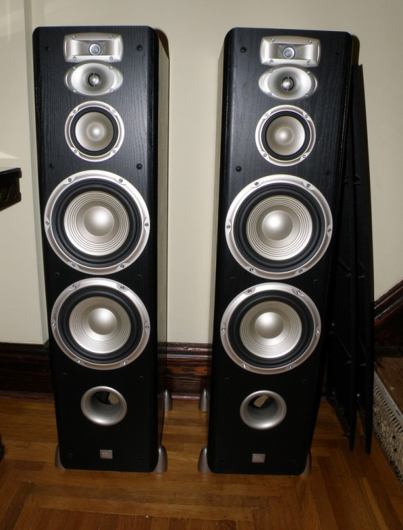 JBL L890 Floor Standing Speakers (Black Ash) For Sale   Canuck Audio Mart