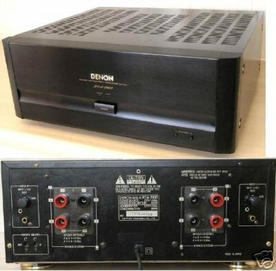 Denon Poa 2800 Dual Mono Power Amplifier 200 W Pc Nr