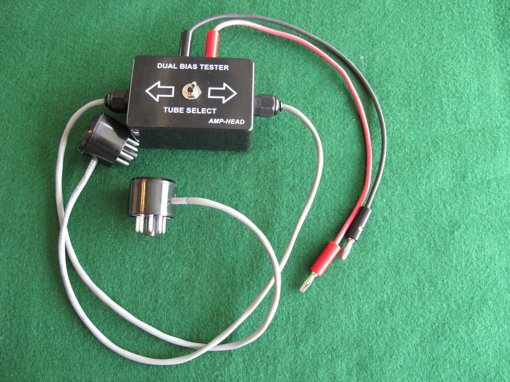 amp head dual bias tester 6l6 6v6 6ca7 5881 el34 kt66 6550 kt88 more for sale canuck audio. Black Bedroom Furniture Sets. Home Design Ideas