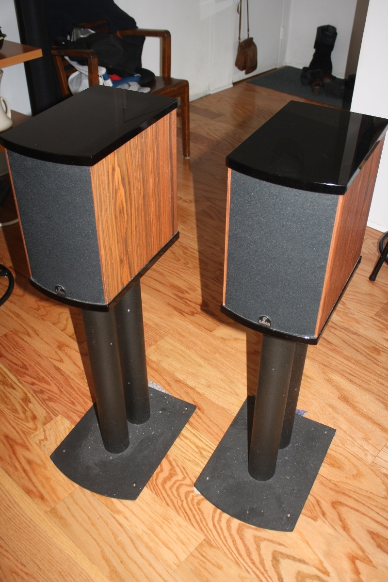 PLATINUM AUDIO SOLO Speakers Dedicated Stands For Sale