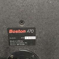 Boston Acoustics A70