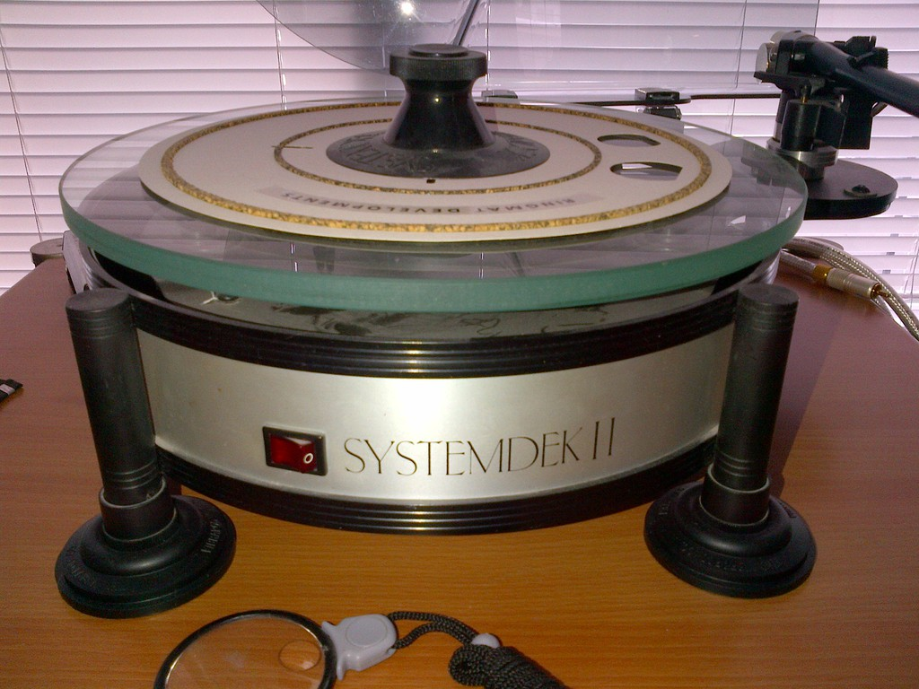Systemdek II Turntable