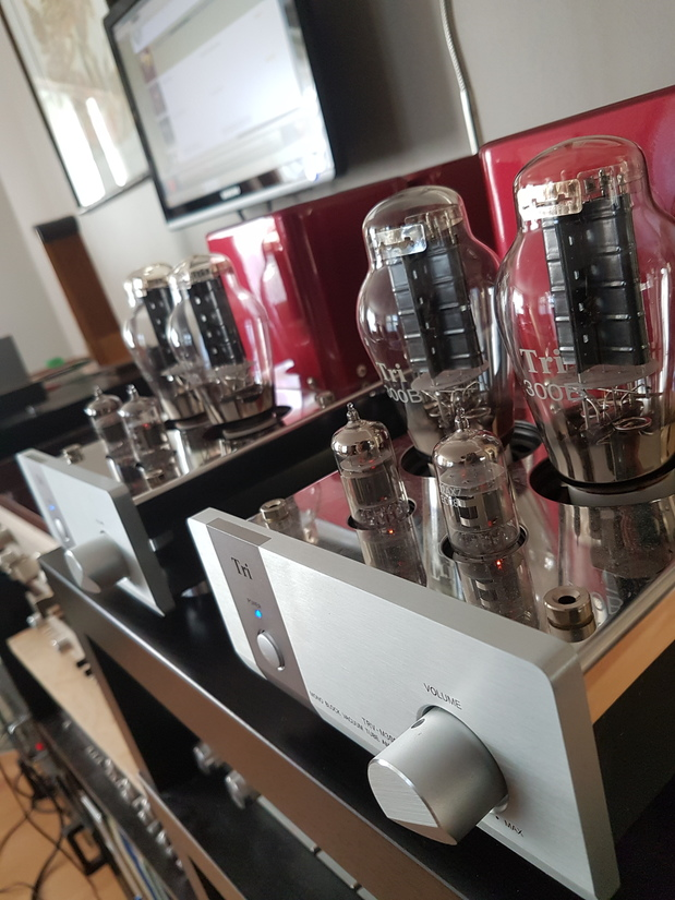 Triode Corp 300B Japanese parallel single ended mono blocks