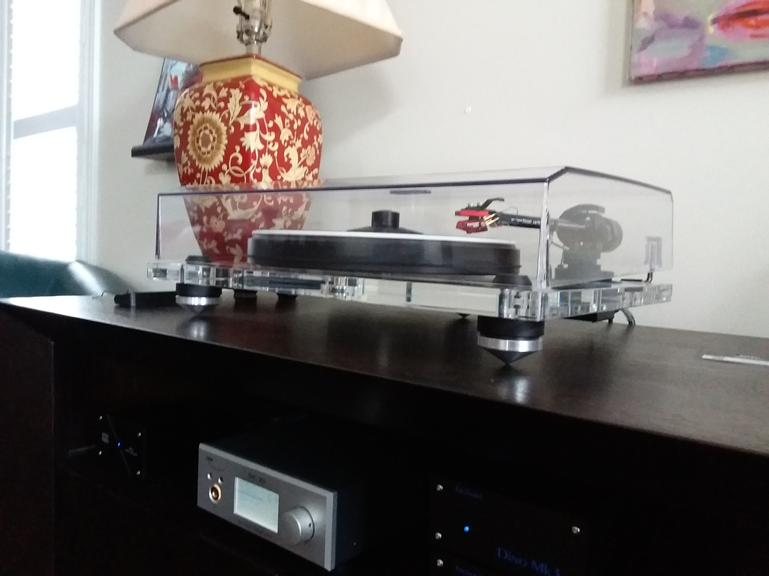 Pro-ject 2 Xperience acrylic and Dynavector 10x5 HOMC + Herbies mat