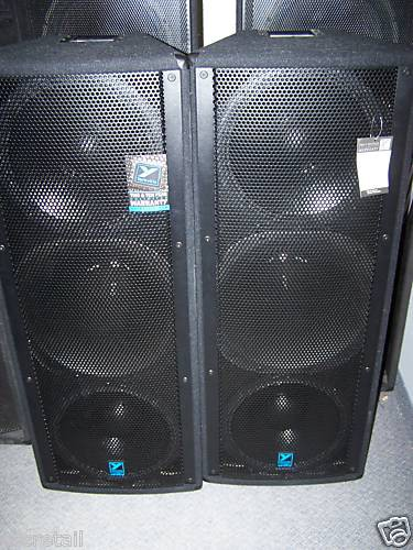 Yorkville Unity Series U215 Pair Of Speakers Store For