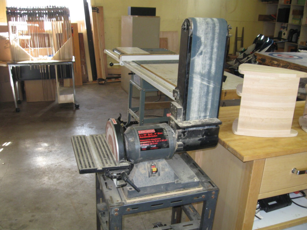 stationary belt and disc sander