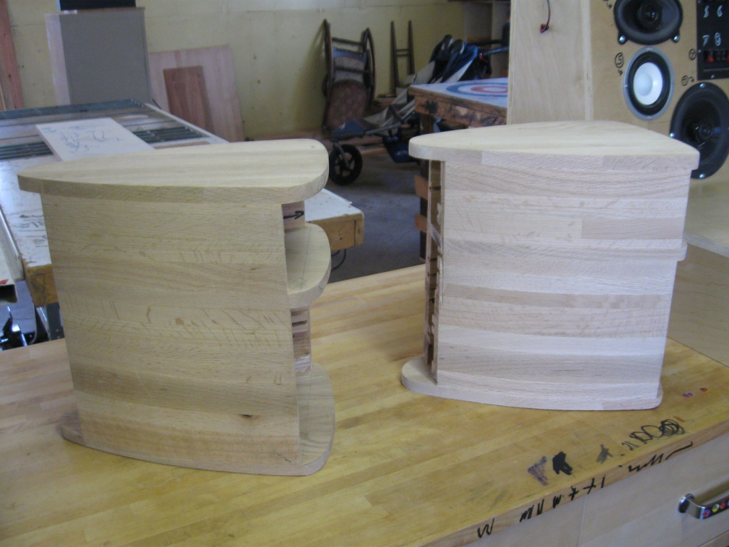 Sonus Faber Imposters very early in development