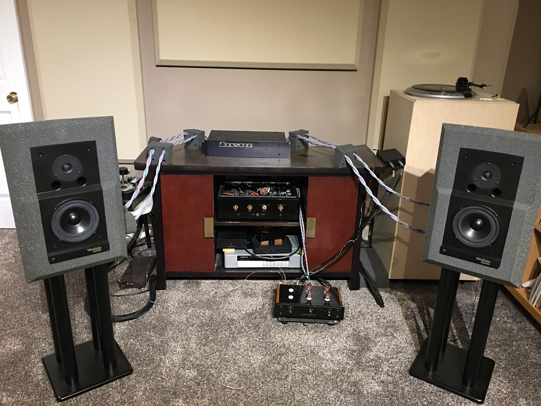 Westlake Audio Lc6.75 with Bryston 2B