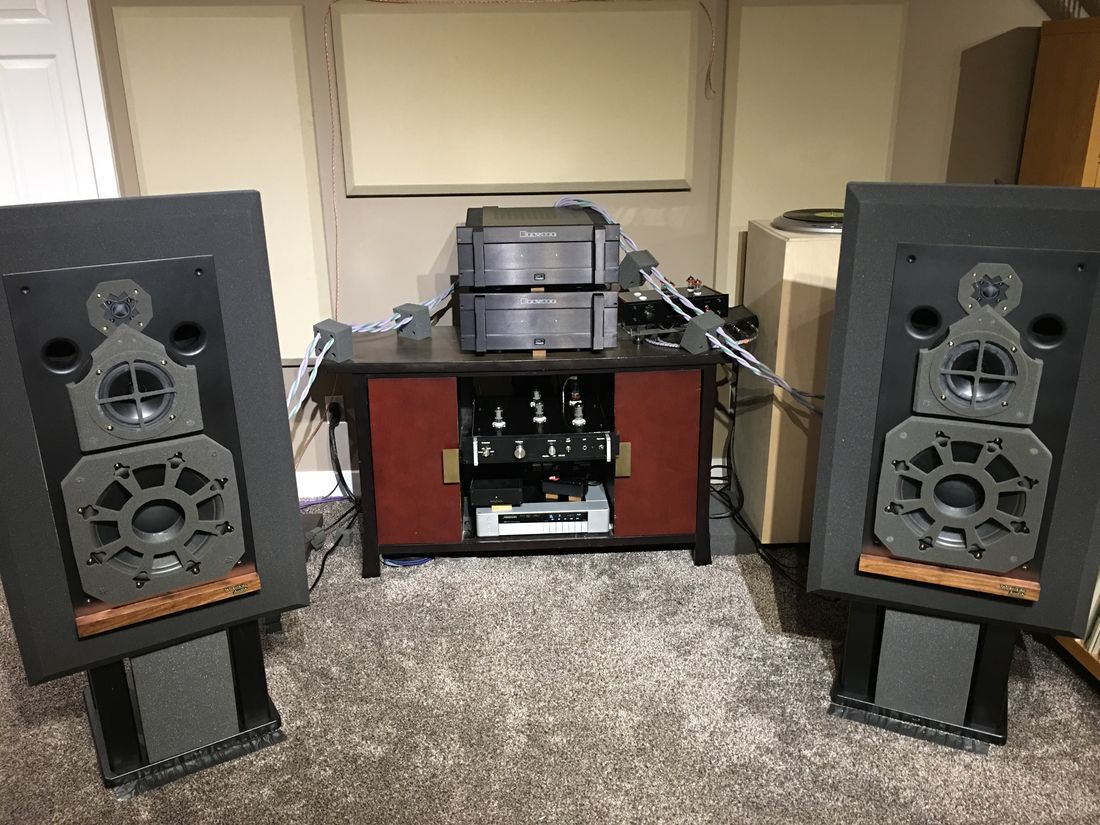 Westlake Audio Lc3W12V driven by two Bryston 14B ST in vertical bi-amping with McAlister MA-10B preamp