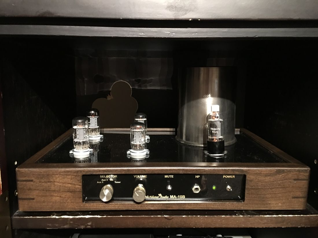 McAlister Audio MA-10B Preamplifier