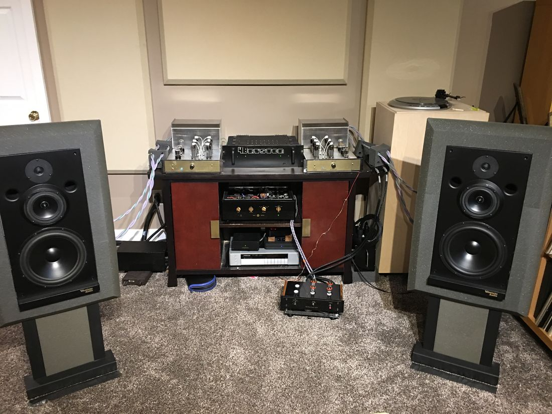 Bi Amping Westlake Audio Lc3W10V with Bryston 4B for the Bass and McAlister Audio MB-130 for the mids/highs (The beauty and the beast:-)
