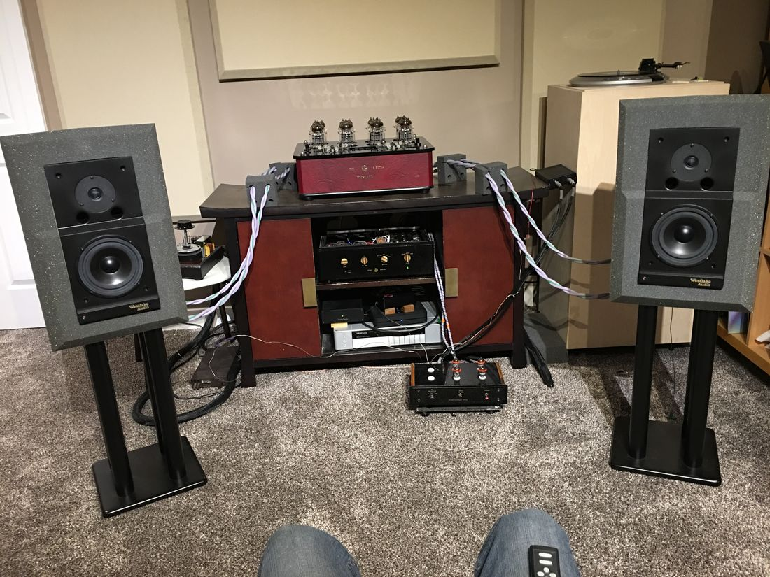 Westlake Audio Lc6.75 with my Joule-Electra VZN-80 OTL